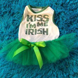 Accessories - Kiss me I'm Irish dog dress